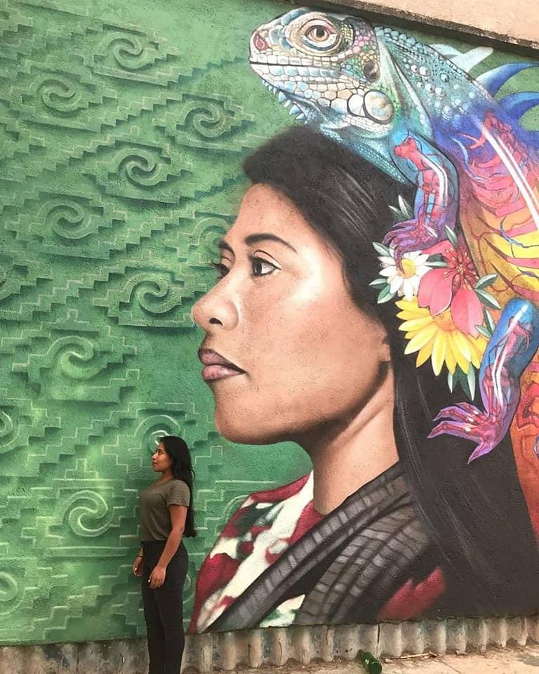 foto Yalitza Aparicio estrena nuevo mural en CDMX 26 mayo 2019
