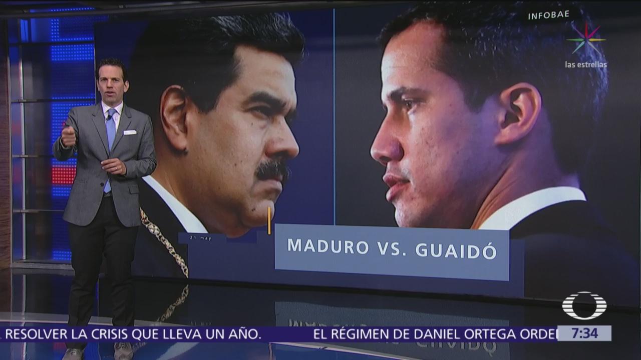 Nicolás Maduro y Juan Guaidó se enfrentan por defender asambleas