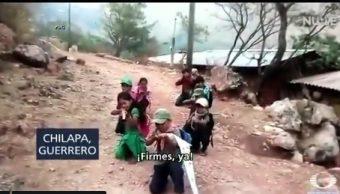Foto: Niños se integran a la policía comunitaria, 14 de mayo 2019. Noticieros Televisa