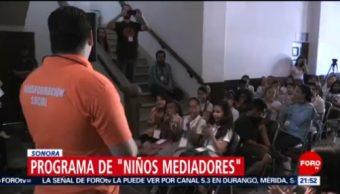 Foto: Niños Capacitados Sonora Conflictos Bullying 15 de Mayo 2019