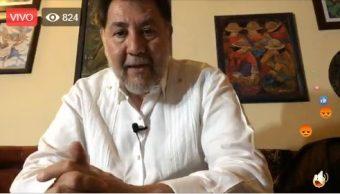 Fernández Noroña anuncia protesta contra Twitter este lunes