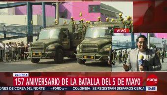 FOTO: Conmemoran el 157 aniversario de la Batalla de Puebla, 4 MAYO 2019