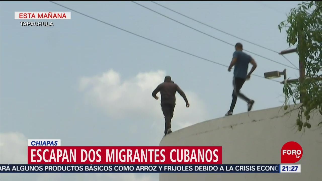 Foto: Nueva Fuga Migrantes Cubanos Chiapas 10 de Mayo 2019