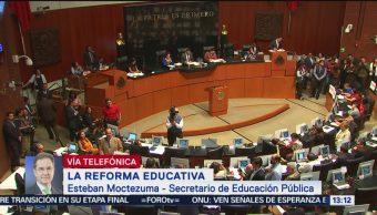 FOTO: Nueva reforma educativa coloca a maestros como agentes de transformación: SEP