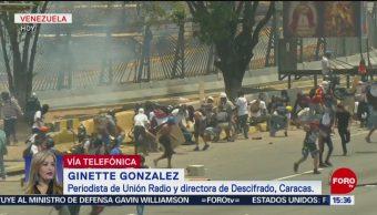 FOTO: 'Operación libertad' sigue en Venezuela: Ginette González, 1 MAYO 2019