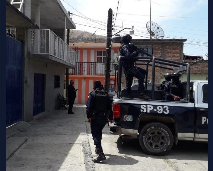 Foto: Operativo de seguridad en Guanajuato, 1 de mayo 2019. Twitter @GtoSeguridad