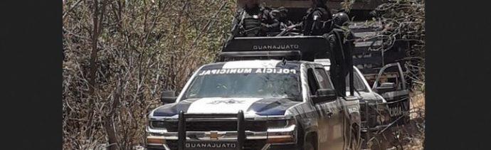 Foto: Operativos de seguridad en Guanajuato, 16 de mayo 2019. Twitter @GtoSeguridad