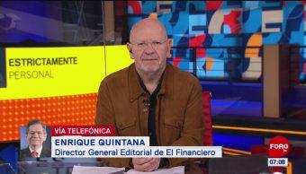 Pemex está bajo la lupa de las calificadoras, dice Enrique Quintana