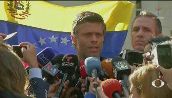 Foto: Crisis Venezuela Maduro Leopoldo López 2 de Mayo 2019