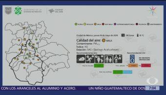 Persiste mala calidad del aire en Valle de México; se mantiene contingencia