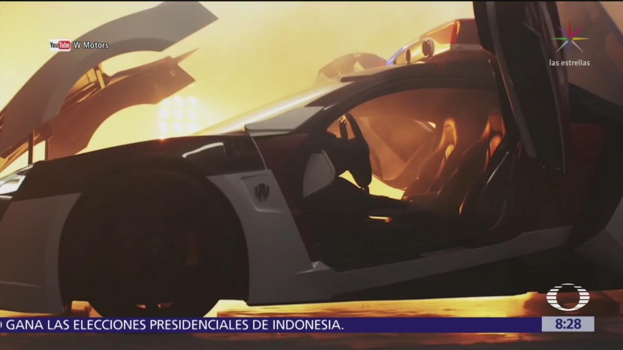 Policía de Abu Dhabi tiene autos hiperdeportivos como patrullas