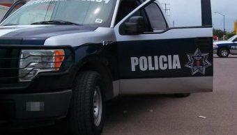Fotografía que muestra una patrulla del estado de Nuevo León, 2 mayo 2019