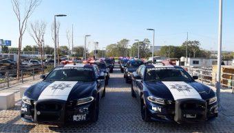 Foto: Patrullas de la Policía Federal. 20 de abril 2019. Facebook-Policía Federal de México)