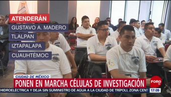 FOTO: Ponen marcha unidades para investigar homicidios