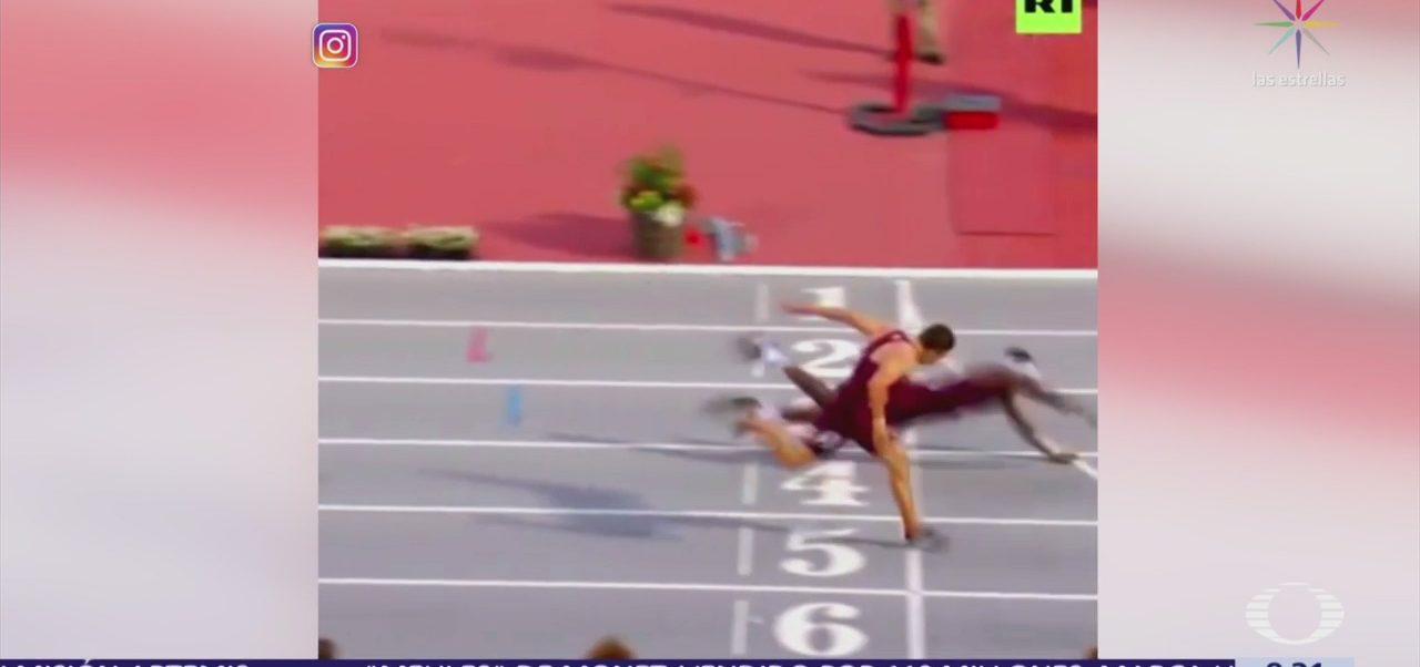 Por un rostro, el corredor Nfinite Tucker gana competencia