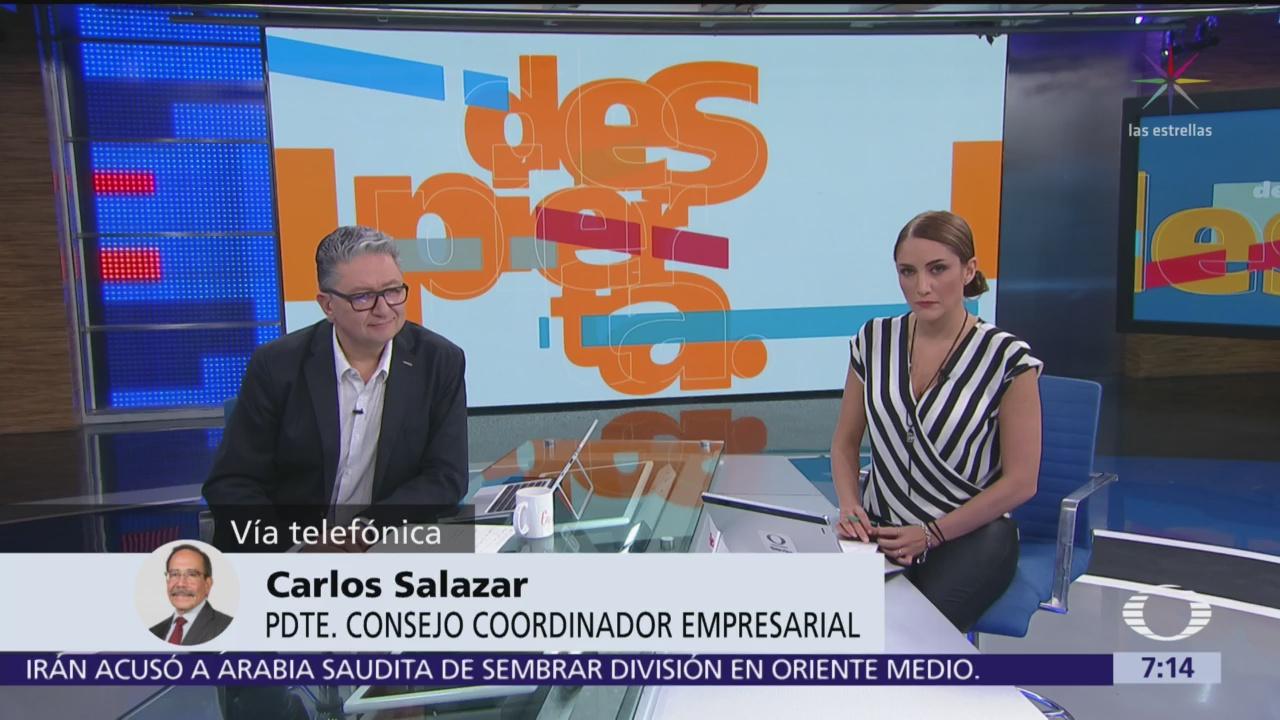 Prioridad para México es ratificación del T-MEC: Carlos Salazar