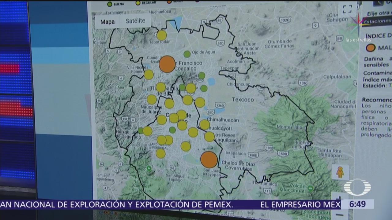 Pronostican mala calidad del aire en la CDMX
