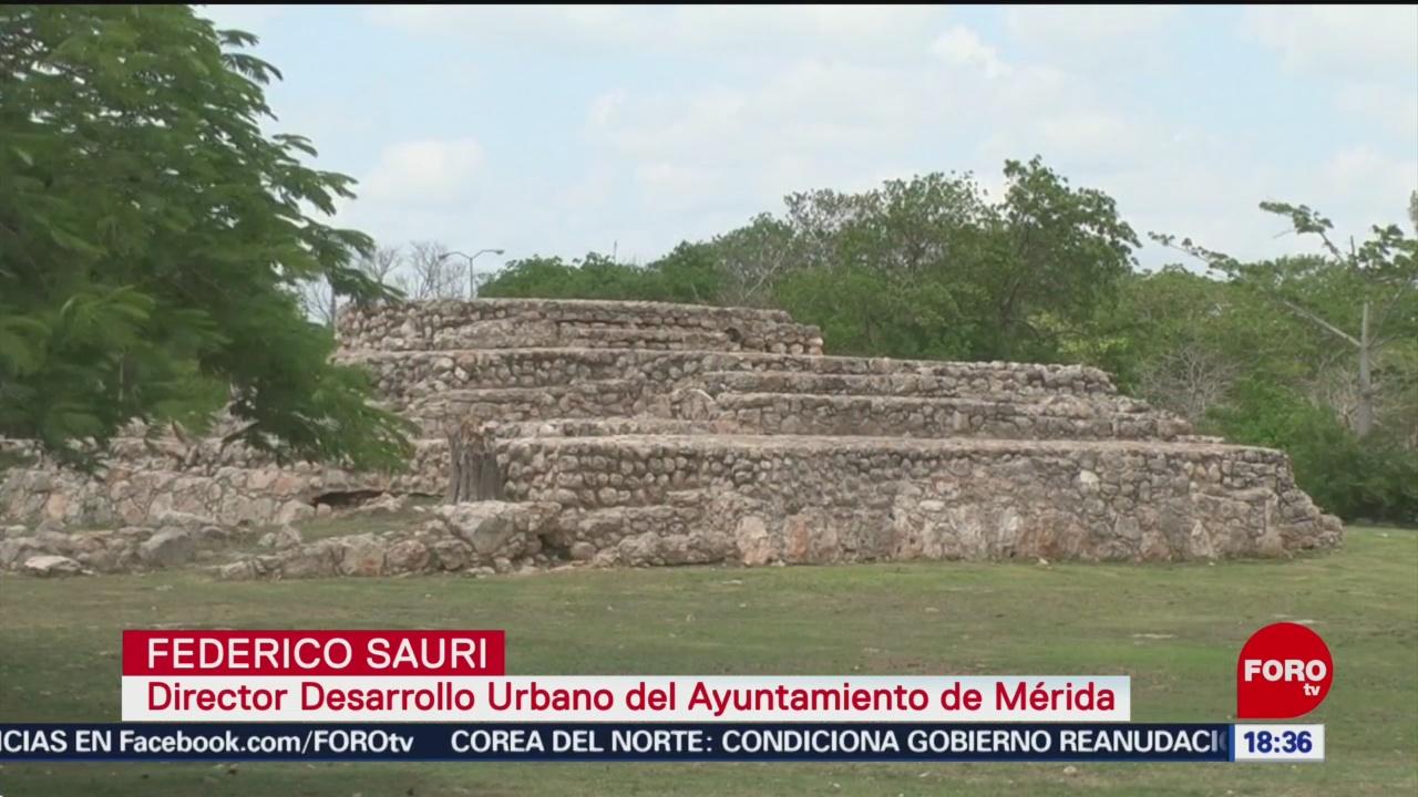 FOTO: Protegen y restauran patrimonio arqueológico maya, 24 MAYO 2019