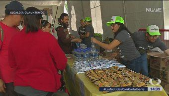 Foto: Realizan Plastianguis en la alcaldía Cuauhtémoc