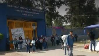 Foto: Reanudan clases en CCH Oriente, 6 de mayo de 2019, Ciudad de México