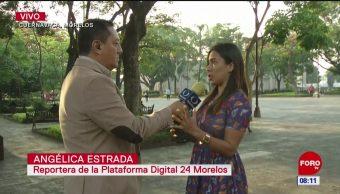 Reportera narra el momento de la balacera en el Zócalo de Cuernavaca