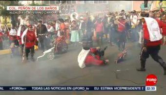 FOTO: Representación de la Batalla de Puebla en la CDMX, 5 MAYO 2019