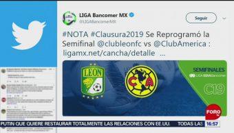 FOto: Reprograman partido de ida de semifinal América vs León por contaminación en CDMX