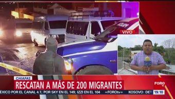 Foto: Autoridades Rescatan Migrantes Centroamericanos 28 Mayo 2019