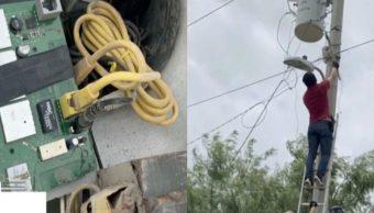 Foto Grupos delictivos instalan sistema de vigilancia en alumbrado público de Reynosa 20 mayo