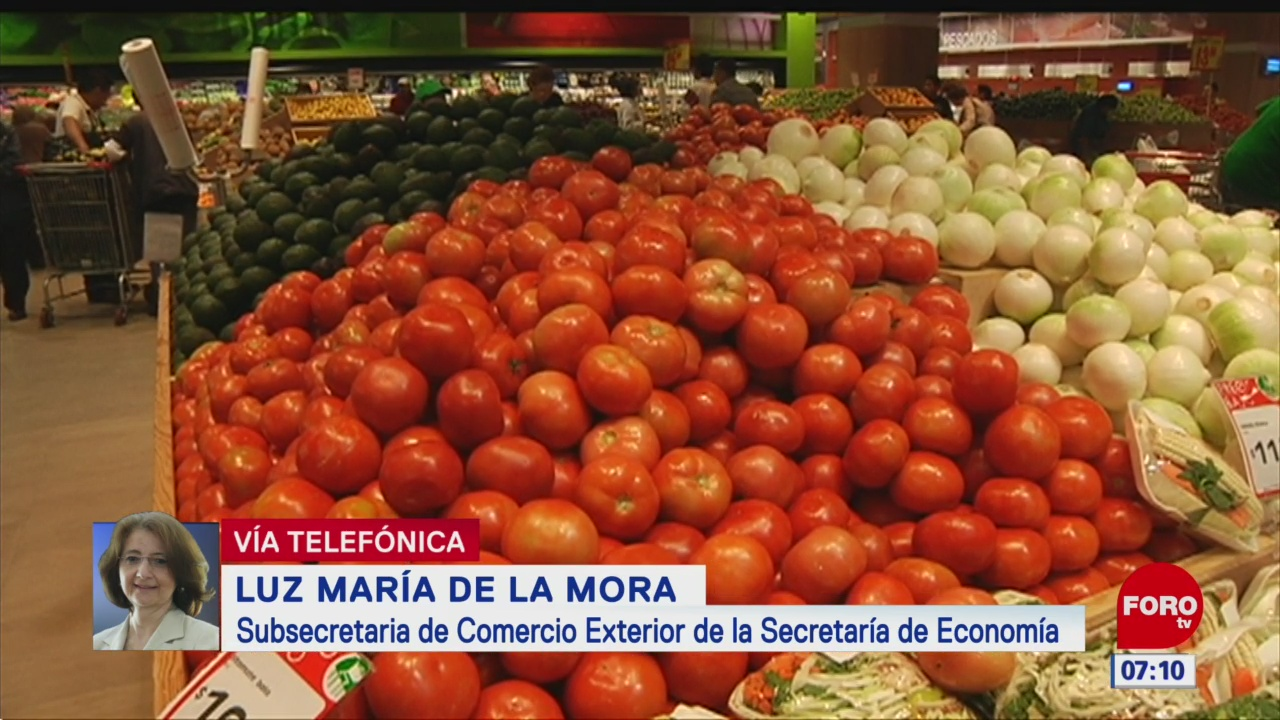 SE: Existe oportunidad de acuerdo con EU para importar jitomate mexicano
