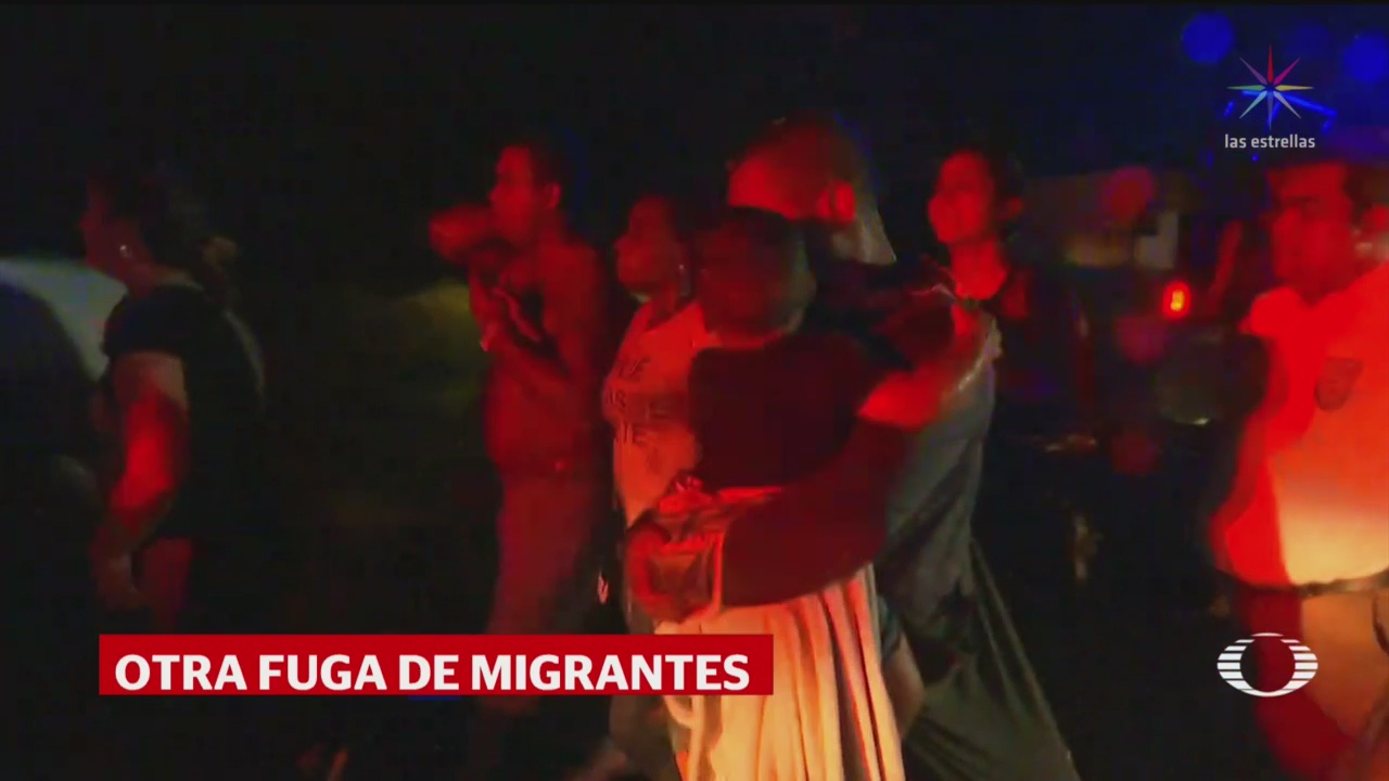 Foto: Nueva Fuga de Migrantes Tapachula Chiapas 7 de Mayo 2019