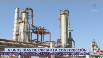 Sener no cuenta con manifestación de impacto ambiental para construir refinería