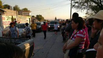 Foto: Sepultan a Francisco Reyes, víctima de explosión en Tlahuelilpan, Hidalgo. 9 de mayo 2019. Twitter @amdigitalhgo