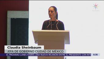 Sheinbaum acepta dificultad para tomar control de la seguridad pública