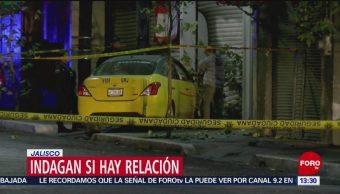 FOTO: Suman cinco taxistas asesinados en una semana en Jalisco