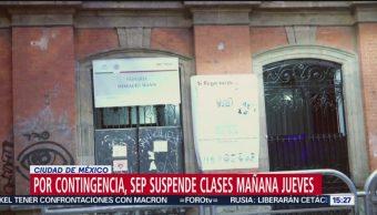 FOTO: Suspenden clases para este jueves por contaminación en CDMX