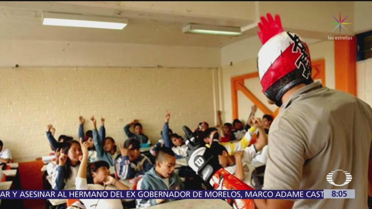 Tacubo Luchador, superhéroe contra bullying