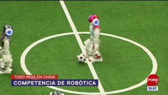 Todo Pasa En China: Competencia de robótica