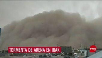 Foto: Tormenta Arena Irak Video 2 de Mayo 2019