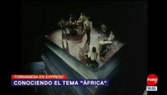 """Tornamesa en expreso: Conociendo el tema """"África"""""""
