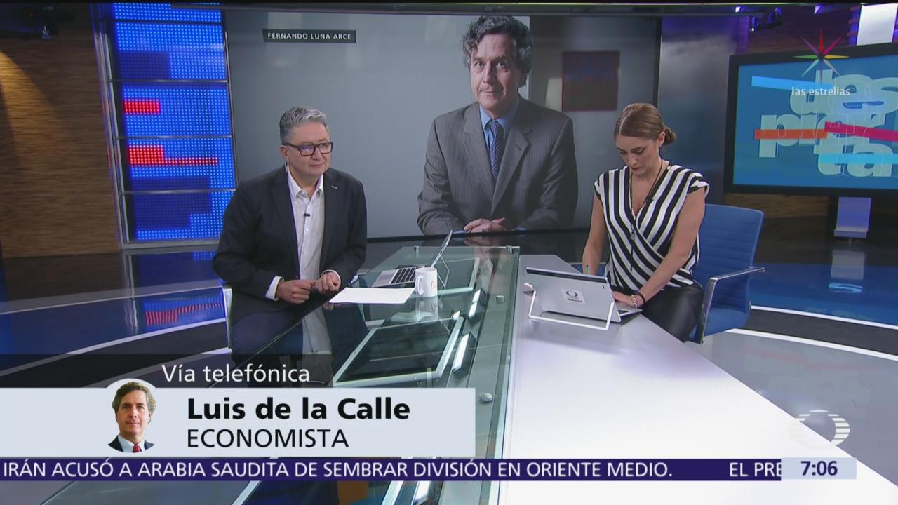 Trump abusa de ley al aplicar aranceles a México: Luis de la Calle