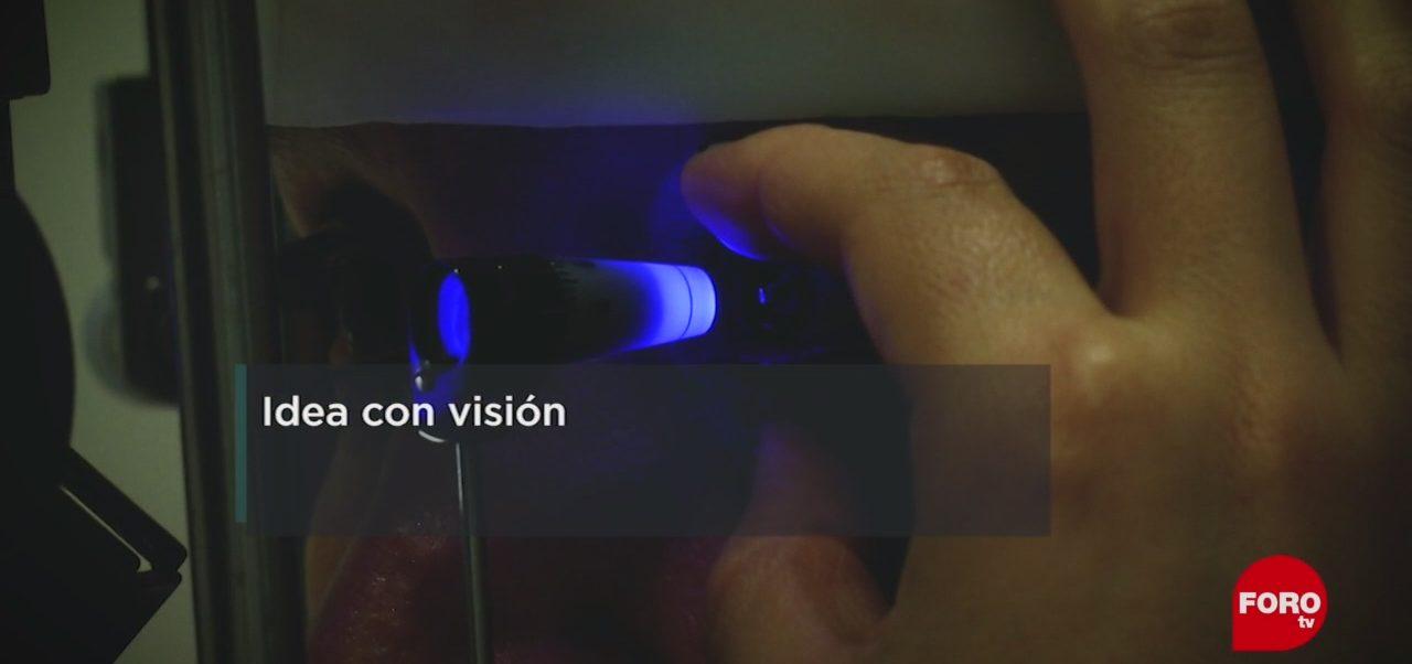 FOTO: UNAM crea micro válvula para tratar el glaucoma, 12 MAYO 2019