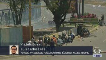 FOTO: Venezuela vive una crisis humanitaria: Luis Carlos Díaz, 1 MAYO 2019