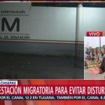 Foto: Estación Migratoria Disturbios Tapachula Migrantes Chiapas 8 Mayo 2019