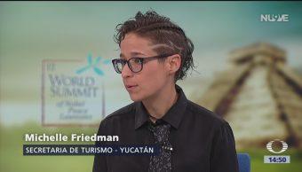 Foto: Yucatán recibe la Cumbre Mundial de Premios Nobel de la Paz