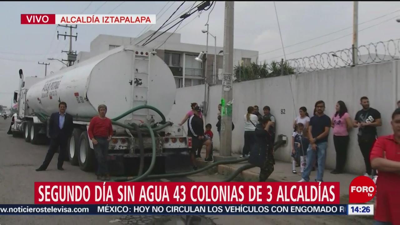 Foto: 43 colonias en 3 alcaldías de CDMX viven su segundo día sin agua
