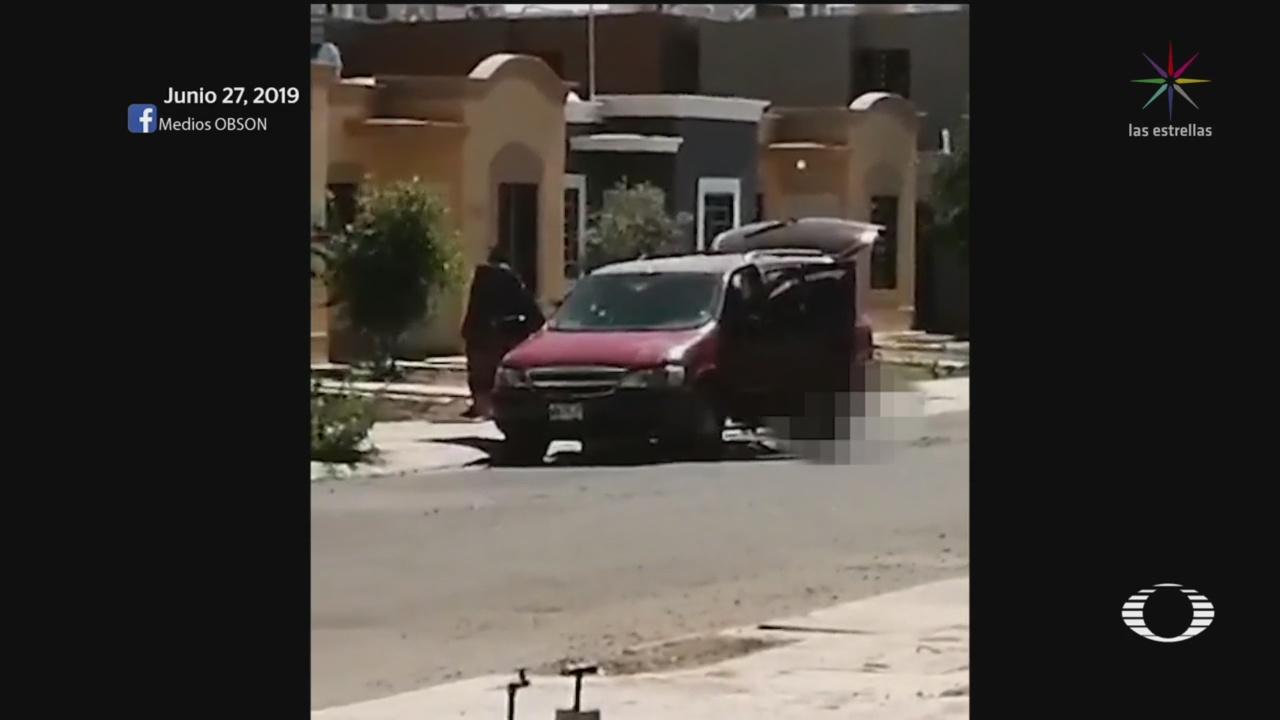 Foto: Sonora Hechos Violentos Matan Niños 28 Junio 2019