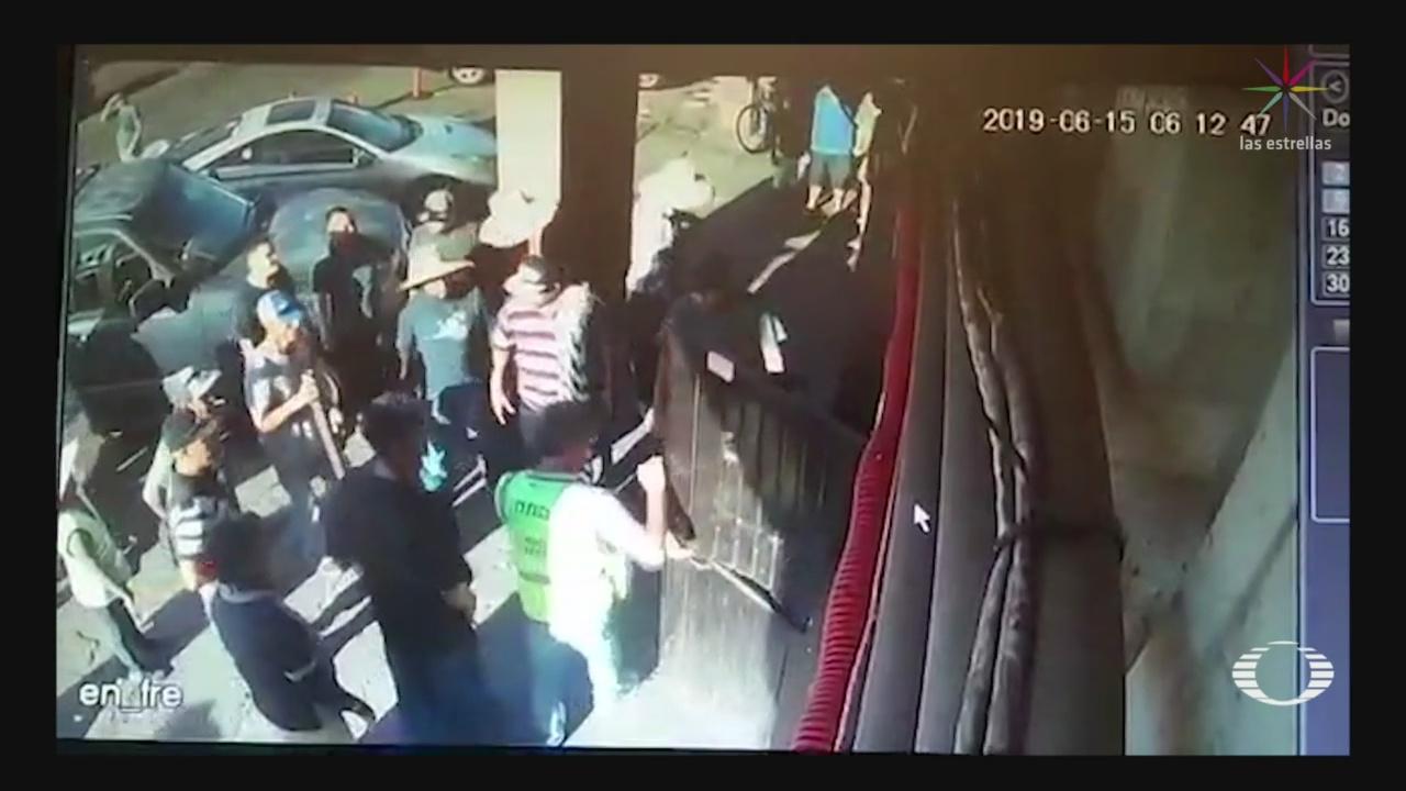 Foto: Ambulantes Atacan Albergue Migrantes Mexicali 17 Junio 2019