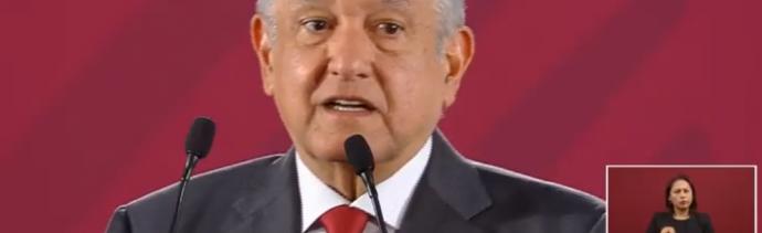 Foto: El presidente Andrés Manuel López Obrador, 14 de junio de 2019, Méxicio