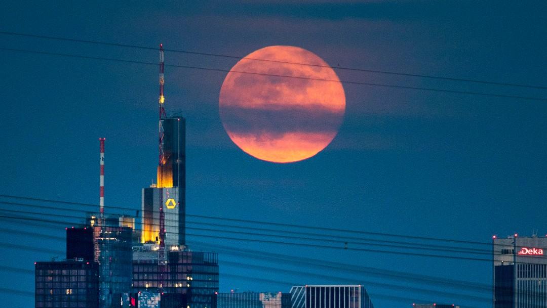 FOTO luna fresa luna llena alemania 17 junio 2019